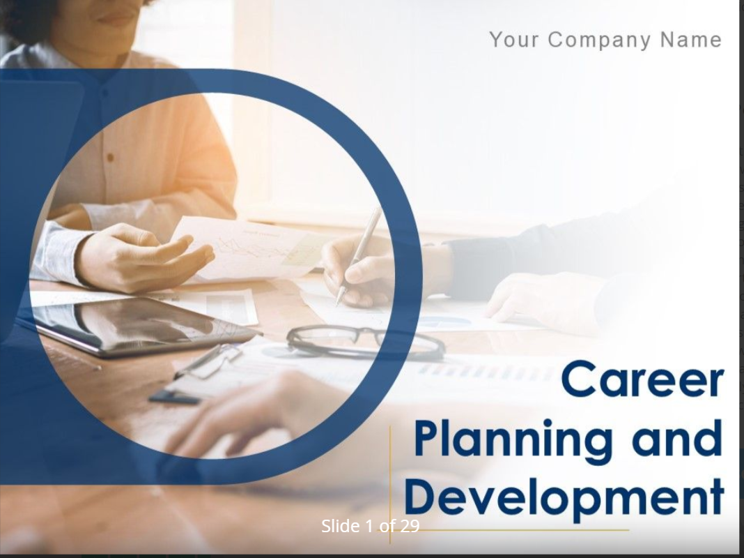 Career Planning Template 4