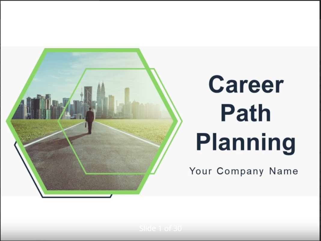 Career Planning Template 5