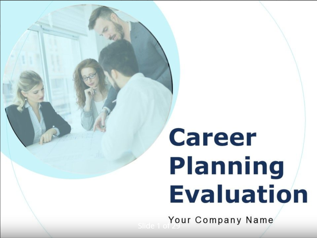 Career Planning Template 7