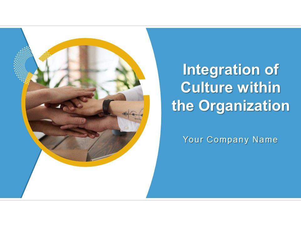 Organizational Culture Template 9