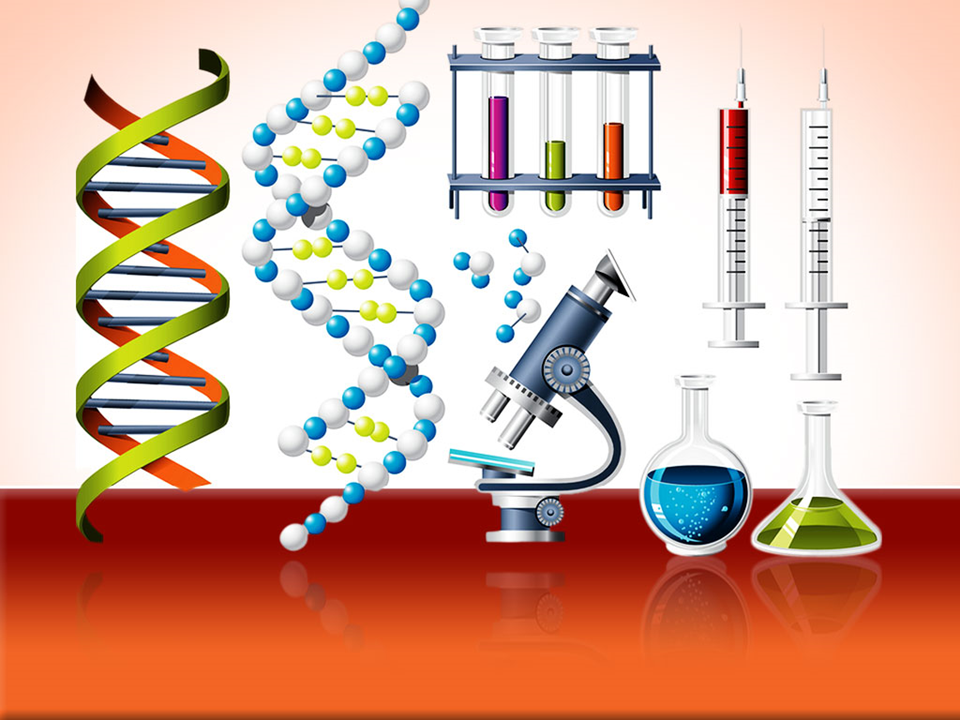 Science And Genetics Icons