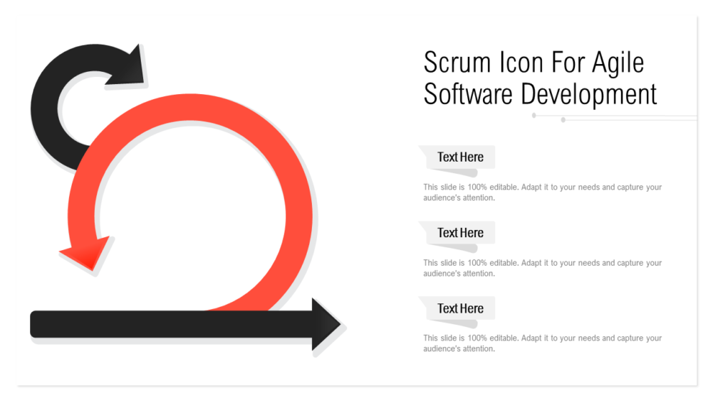 Scrum Icon For Agile Software Development