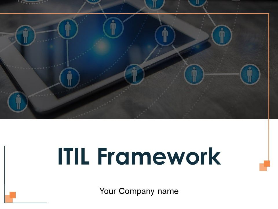 ITIL framework and Service Lifecycle Template 1