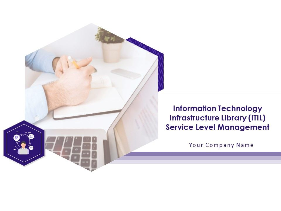 ITIL framework and Service Lifecycle Template 20