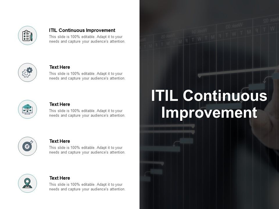 ITIL framework and Service Lifecycle Template 17