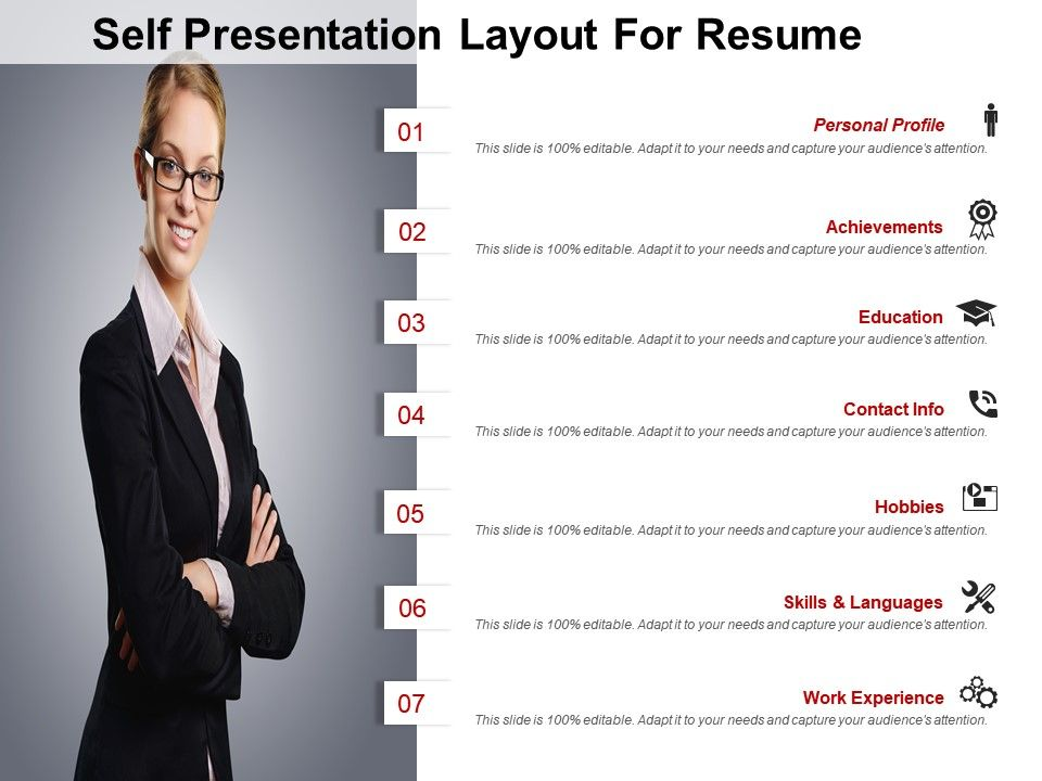 One Page Resume Template 21