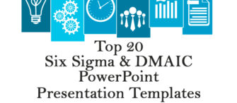 Top 20 Six Sigma and DMAIC templates for Lean Manufacturing and Process Improvement Presentations in PowerPoint
