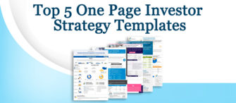 Presenting the most effective One Page Investor Strategy (with stunning Templates researched and designed by professionals)