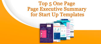 Presenting the most effective One-Page Executive Summary for Startups (with templates designed by professionals)