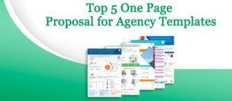 Presenting the most effective One-Page Proposal for any Agency (with templates designed by professionals)