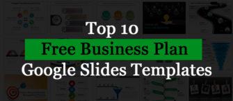 Top 10 Free Business Plan Google Slides Templates!!