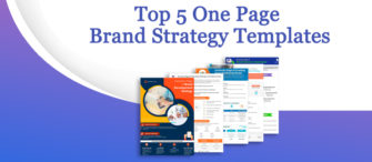 Presenting the most effective One-Page Brand Strategy (with templates designed by professionals)