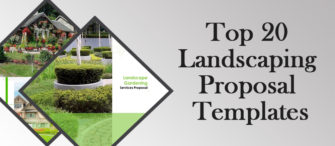 Top 20 Landscaping Proposal Templates to Convince your Clients