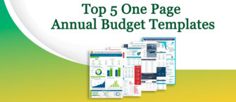 Presenting the most effective One-Page Annual Budget (with templates designed by professionals)