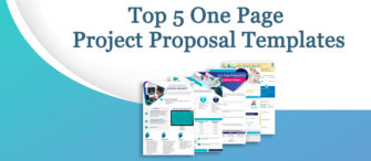 Presenting the most effective One-Page Project Proposal (with templates designed by professionals)