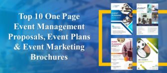 Top 10 One Page Event Management Proposals, Event Plans and Event Marketing Brochures