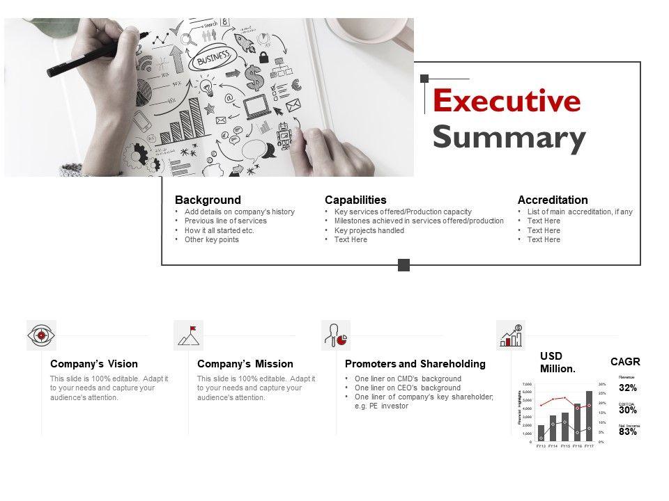 Executive Summary Template 45