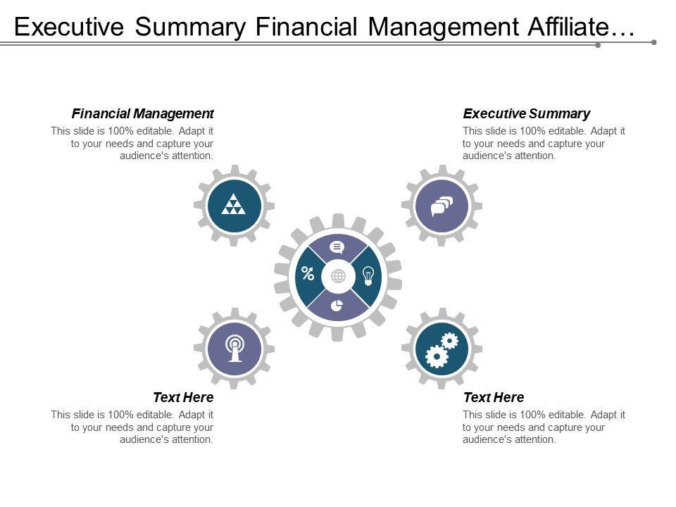 Executive Summary Template 15
