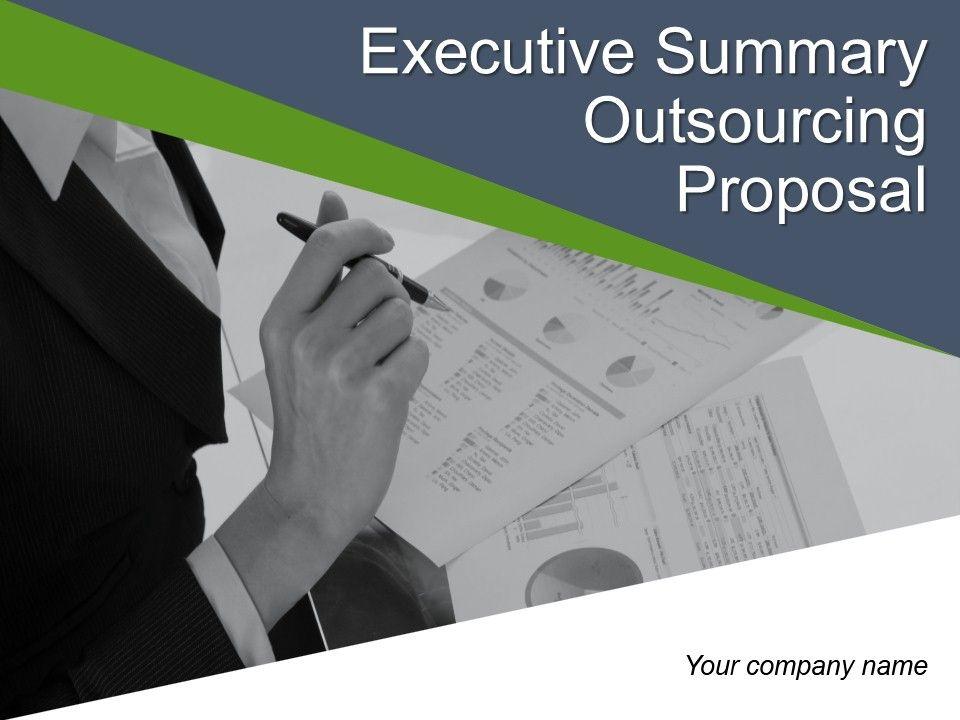 Executive Summary Template 10