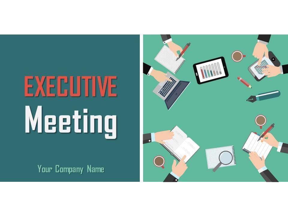 Executive Summary Template 8