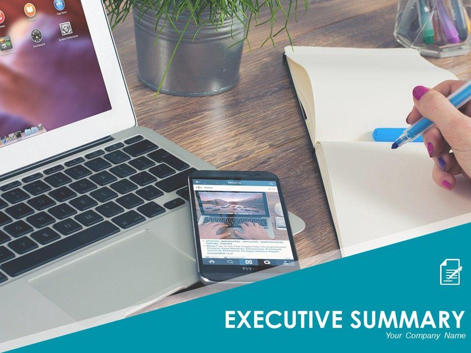 Executive Summary Template 6