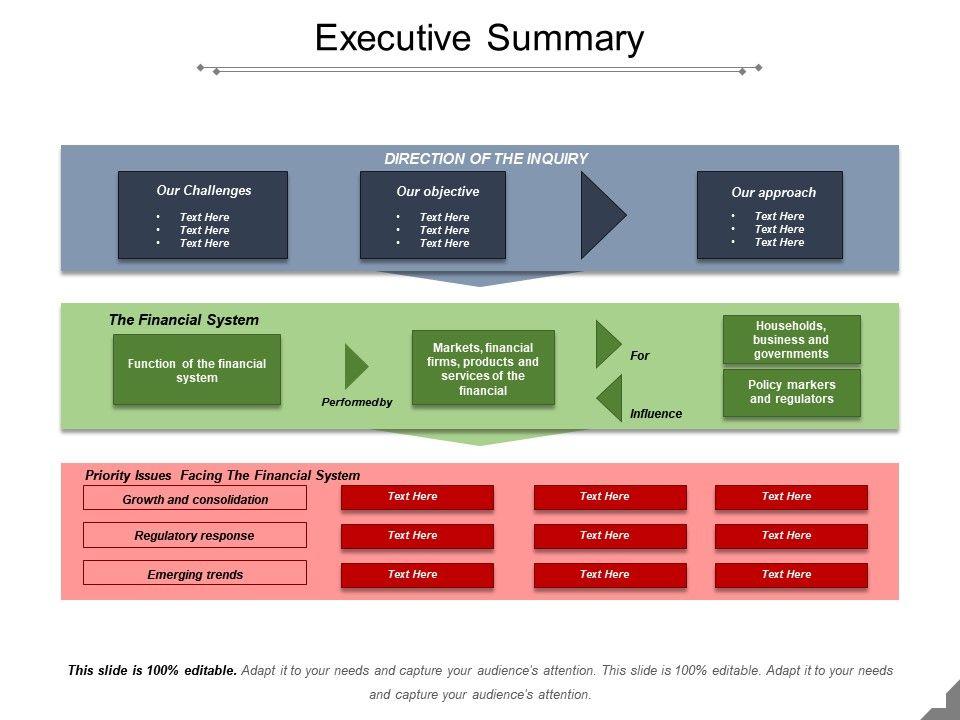 Executive Summary Template 26