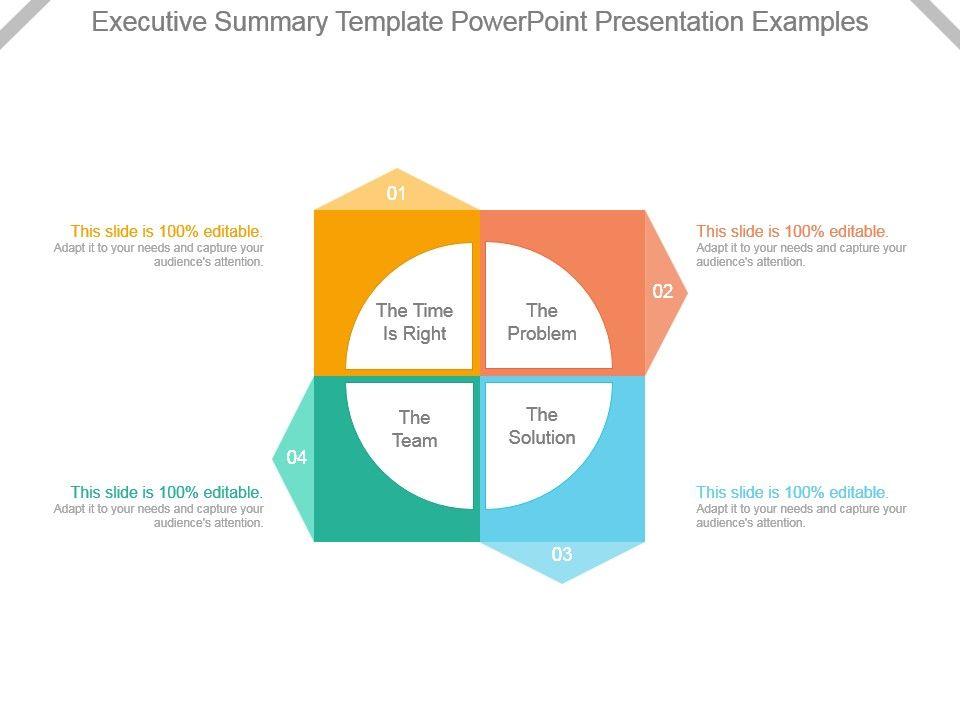 Executive Summary Template 32