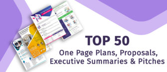 Our Top 50 One Page Plans, Proposals, Executive Summaries, and Pitches
