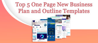 Presenting the most effective One-Page New Business Plan and Outline (with templates designed by professionals)