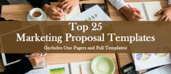 Top 25 Marketing Proposal Templates (Includes One Pagers and Full Templates) To Bag More Clients!!