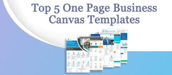 Presenting the most effective One-Page Business Canvas (with templates designed by professionals)