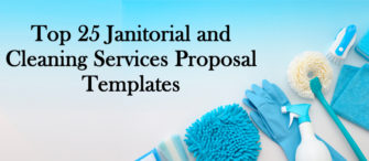 Top 25 Janitorial and Cleaning Services Proposal Templates for Clients