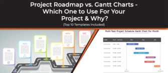 Project Roadmap vs. Gantt Charts - Which one to use for your project and why? (Top 10 Templates Included)