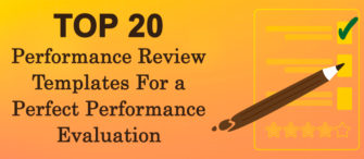 Top 20 Performance Review Templates For a Perfect Performance Evaluation