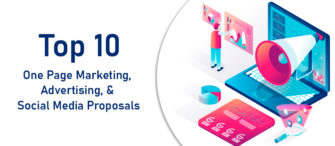 Top 10 One Page Marketing, Advertising, and Social Media Proposals For Effective Marketing Strategies