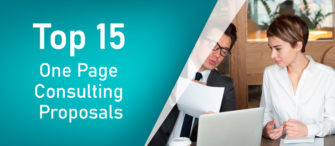 Top 15 One Page Consulting Proposals To Turn Your Tedious Deals Into Interesting Ones!!