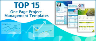 Top 15 One Page Project Management Templates To Make Your Planning Go Smooth!!