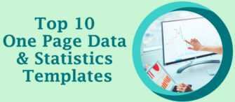 Top 10 One Page Data and Statistics Templates To Make Your Business Decisions More Prominent