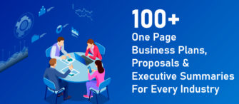 100+ One Page Business Plans, Proposals, and Executive Summaries For Every Industry