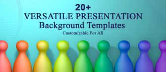 20+ Versatile Presentation Background Templates - Customizable For All Presentations