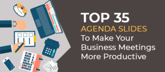 Top 35 Agenda Slides To Make Your Business Meetings More Productive