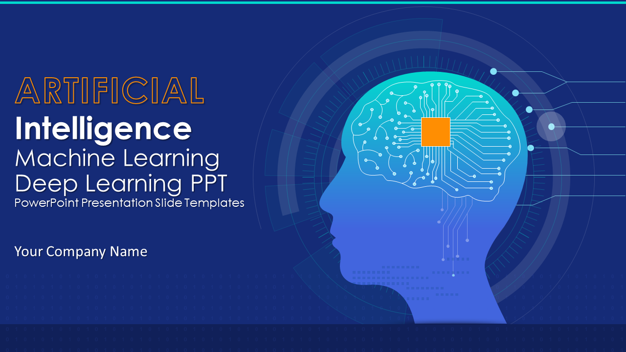 Artificial Intelligence Machine Learning Deep Learning PPT