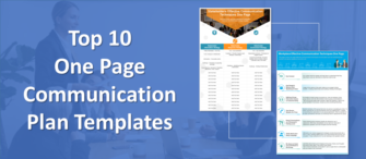 Top 10 One Page Communication Plan for Formulating Effective Business Strategy!