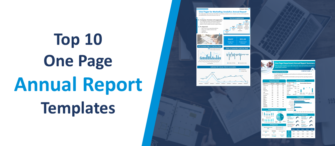 Top 10 One Page Annual Report Templates to Precisely Present the Organizational Overview!