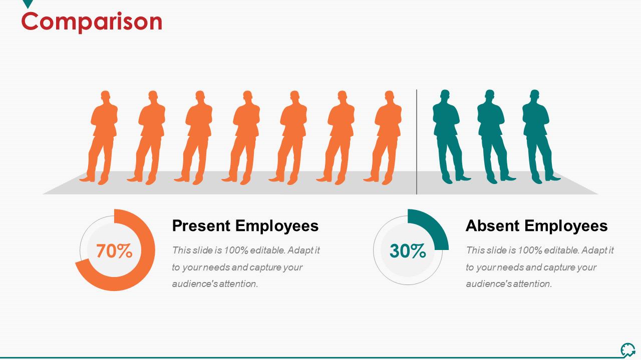 Comparison PowerPoint Slide Background