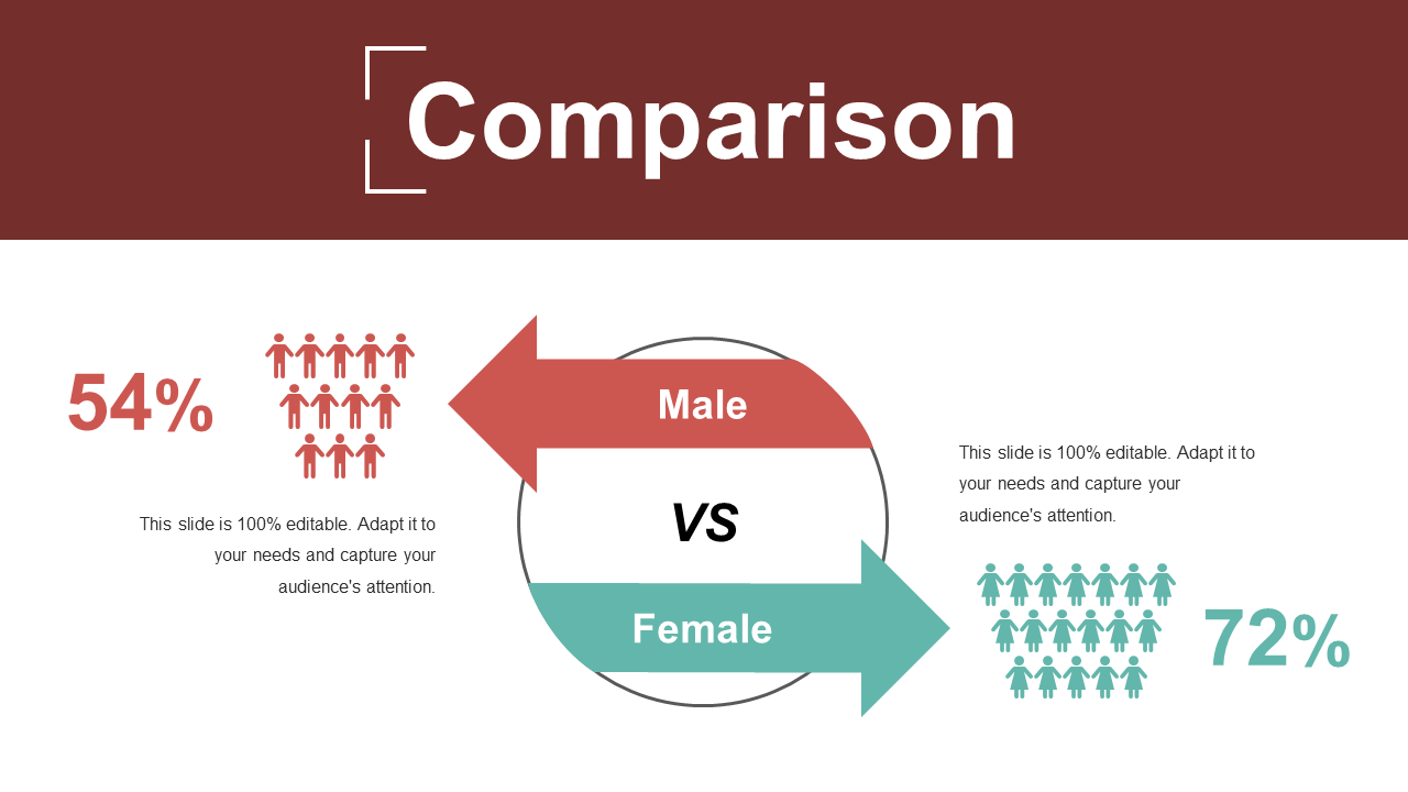 Comparison PowerPoint Slide