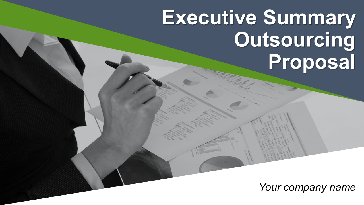 Executive Summary Outsourcing Proposal PowerPoint Presentation