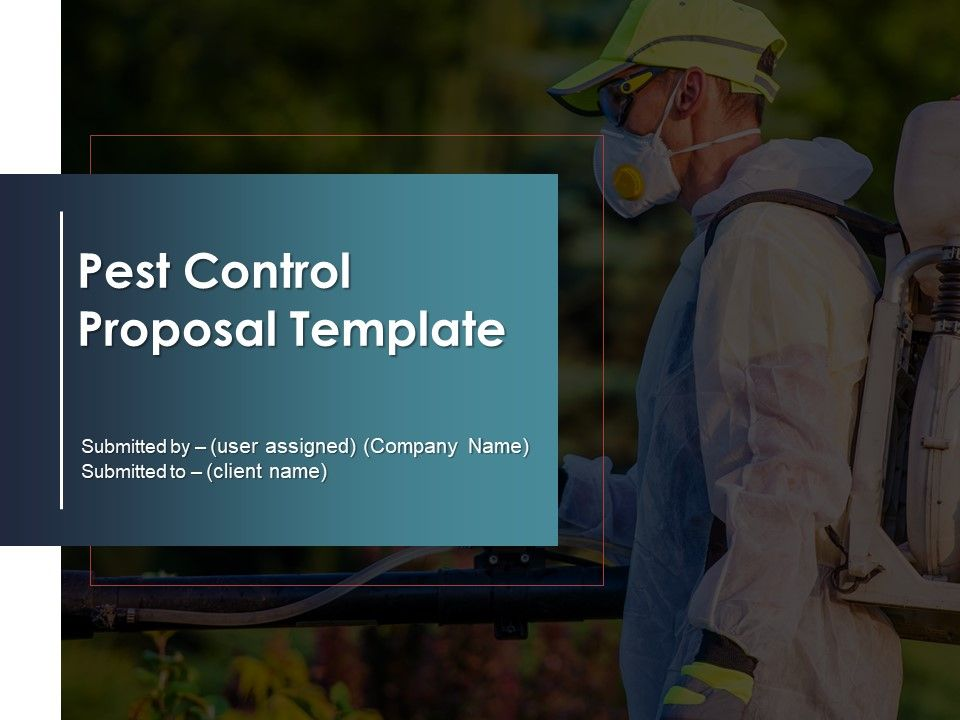 Pest Control Proposal Template