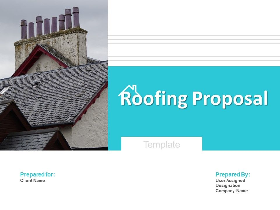 Roofing Proposal Template