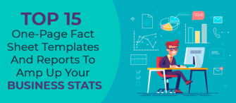 Top 15 One-Page Fact Sheet Templates and Reports To Amp Up Your Business Stats